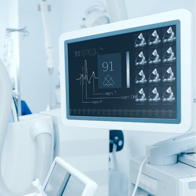 Monitor per monitoraggio parametri vitali